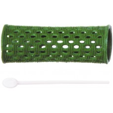 Бигуди пластик зеленые d 26 мм RMHR3