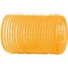 Бигуди-липучки желтые d 32 мм R-VTR5
