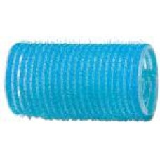 Бигуди-липучки голубые d 28 мм R-VTR6