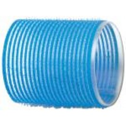 Бигуди-липучки голубые d 55 мм R-VTR15