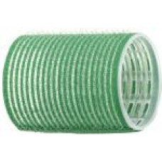 Бигуди-липучки зеленые d 48 мм R-VTR1