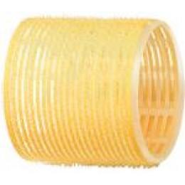 Бигуди-липучки желтые d 65 мм R-VTR17