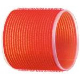 Бигуди-липучки красные d 70 мм R-VTR18