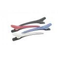 Зажим пластмассовые цветные 12,4 см JB0022