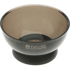 Чаша д/окр DEWAL черная прозрачная, 360 мл T-08black