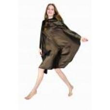 Пеньюар для стрижки «Глянец» DEWAL , коричневый 128X146 см AA04Brown