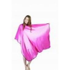 Пеньюар для стрижки розовый «Глянец» DEWAL ,128X146 см.DEWAL  AA04Pink