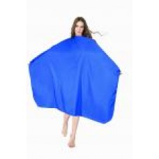 Пеньюар для стрижки синий DEWAL ,128X148см.DEWAL  AA09Blue