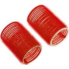 Бигуди-липучки красные d 13мм R-VTR10