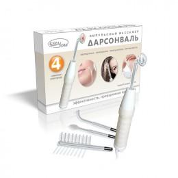 Дарсонваль для лица, тела и волос с 4 мя насадками, Biolift 4 118 (BT - 118), Gezatone