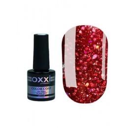 Гель лак Oxxi Star Gel №001 ( гранатовый красный , с блёстками и слюдой) , 8 мл