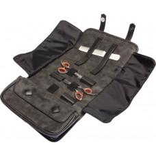Чехол для парикмахерских инструментов DEWAL ,полимерный материал, черный 25х13х8см
