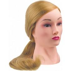 """Голова """"блондинка"""", волосы 50-60 см протеин DEWAL"""