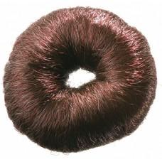 Валик круглый коричневый из искусственного волоса DEWAL HO-5115 Brown