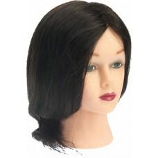 """Голова """"брюнетка"""", волосы 30-40 см DEWAL"""