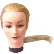 """Голова """"блондинка"""", волосы 45-50 см DEWAL"""