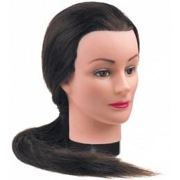 """Голова """"шатенка"""", волосы 50-60 см DEWAL"""
